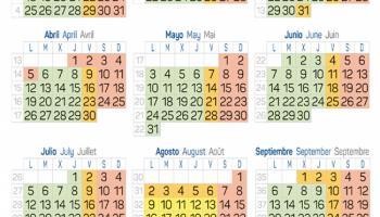 Commercial Calendar 2021