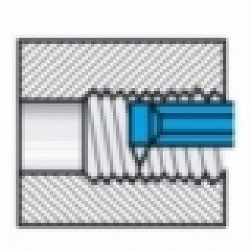 IZAR 11181-Barra Saldata ISO6 DIN4980 25 X 25 X 140-Rs-K10