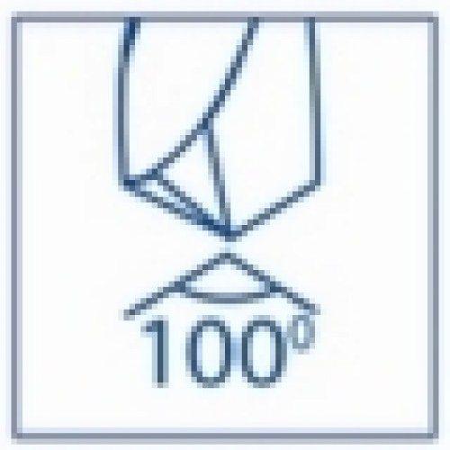 caract broca angulo punta 100